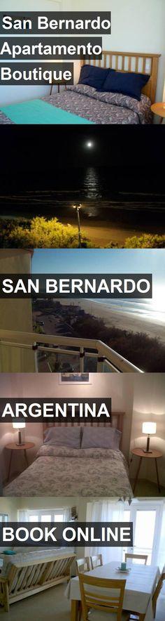 Hotel San Bernardo Apartamento Boutique in San Bernardo, Argentina. For more information, photos, reviews and best prices please follow the link. #Argentina #SanBernardo #travel #vacation #hotel