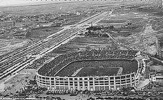 Real Madrid stadium Santiago Bernabeu 1957