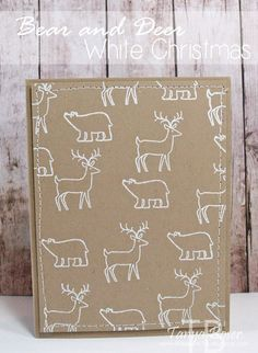 Tinkerin In Ink with Tanya: Stamp Review Crew: White Christmas Edition