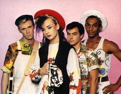 Culture Club - i had a crush on Boy George even when I thought he was a girl......what does that make me? besides sexually confused?