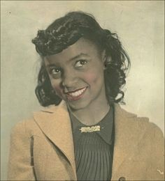 A young Ruby Dee