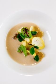 Chestnut, roe, clover at Meadowood's 12 Days of Christmas, Day 5: Jason Franey of Canlis in Seattle