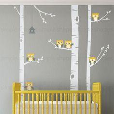 Birch Tree Decals for Nursery