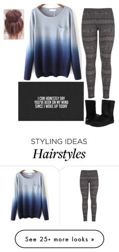 Untitled #579 by quata on Polyvore featuring maurices and UGG Australia
