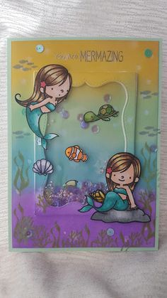 Patricia Deco Scrap Beach Cards, Pop Up Box Cards, Fairy Crafts, Scrapbook Cards, Scrapbooking, Shaker Cards, Animal Cards, Pretty Cards, Card Sketches