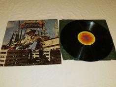 Jimmy Buffett White Sport Coat Pink Crustation abc Record LP Album Record 1973*^