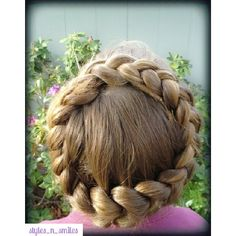 Instagram media by styles_n_smiles - Crown Dutch Braid
