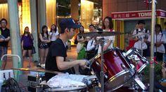 """20130628 李科穎《梁心頤-Darling》 高畫質 1080p HD Jazz Drummer """"Ke Ying"""""""