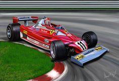 Niki Lauda su Ferrari 312 T2 (1977)