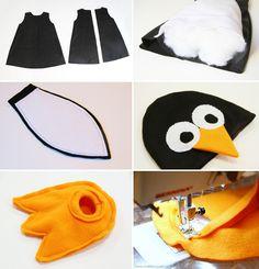 Disfraz de pingüinos