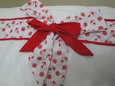 Artık  kumaşlarla havlu süsledim,ribboned towel