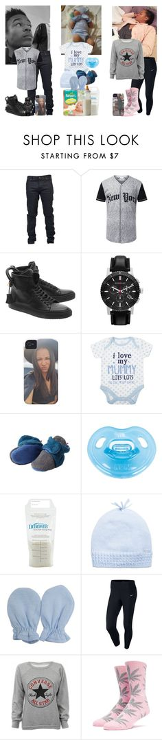 """Holiday"" by iamcrystalstorm18 ❤ liked on Polyvore featuring Yves Saint Laurent, BUSCEMI, Burberry, Dr. Brown's, NIKE, Converse, men's fashion and menswear"