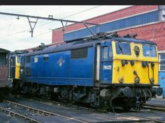 Electric Locomotive, Diesel Locomotive, Electric Train, British Rail, Sheffield, Great Britain, Manchester, Trains, Transportation