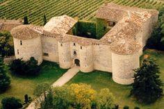 Chateau-Fort-de-Mauriac, Senouillac,Tarn, Midi-Pyrénées.