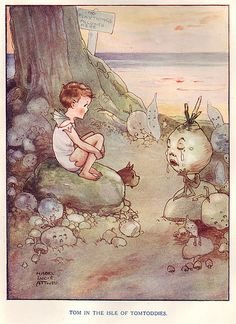 Mabel Lucie Attwell - Water Babies illustration. I adored this book as a child