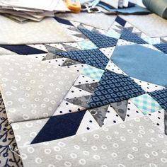 Sewing Techniques Advanced Skill level: advanced Size: x Quilt Block Patterns, Pattern Blocks, Sewing Patterns, Star Quilt Blocks, Star Quilts, Snowflake Quilt, Snowflakes, Foundation Paper Piecing, Love Sewing