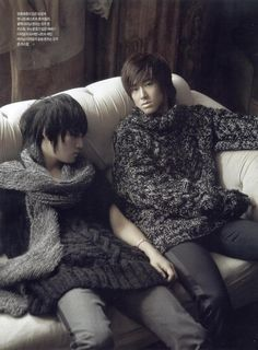 Jaejoong and Yunho - DBSK