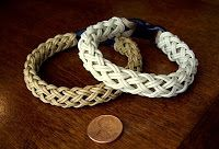 Stormdrane's Blog: A long 4 bight turks head knot over paracord...