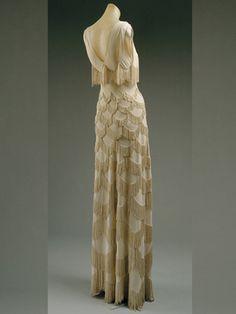 Madeleine Vionnet, Evening dress, spring/summer 1938