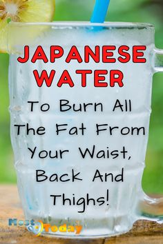 Weight Loss Drinks, Weight Loss Smoothies, Slim Down Drink, Japanese Water, Fat Burning Detox Drinks, Diet Drinks, Healthy Drinks, Beverages, Healthy Detox