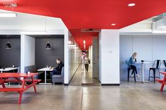 Reflecting Facebook's cool corporate culture as well as this capital city's vibrant palette and vernacular architecture, the 13,000-square-foot open plan features pl...