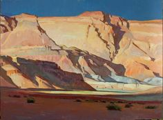 """Ray Roberts """"Marble Canyon"""" (oil, 24x30)"""