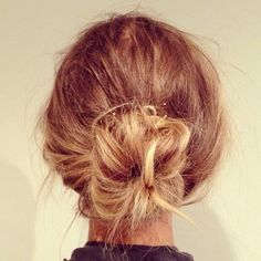 Nothing like a messy bun...