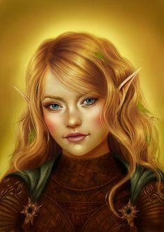 a portrait using devianart to create a fantasy character Fantasy Portraits, Character Portraits, Fantasy Artwork, Character Art, Character Ideas, Elf Characters, Dungeons And Dragons Characters, Fantasy Characters, Fictional Characters