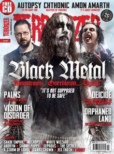 Terrorizer Magazine Terrorizer Magazine Cover