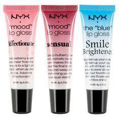 NYX Cosmetics Mood Lip Gloss Shiny Affectionate 3 Pack ** Visit the image link more details. Nyx Makeup, Makeup To Buy, Kiss Makeup, Beauty Makeup, Makeup Ideas, Nyx Cosmetics, Dupes Nyx, Elf Dupes, Make Up