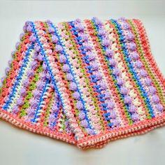 Crochet+For+Children:+Sugar+Love+Baby+Blanket+–+Free+Crochet+Pattern