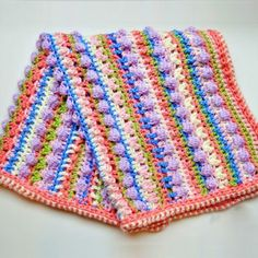 Sugar Love Baby Blanket – Free Crochet Pattern  ༺✿Teresa Restegui http://www.pinterest.com/teretegui/✿༻