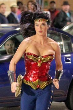 In Palicki portrayed Wonder Woman in a 2011 pilot produced by David E. Kelley for NBC. The pilot was not picked up by NBC as a series Taurus, Adrienne Palicki, Female Portrait, Woman Portrait, Female Comic Characters, Geek Movies, Best Testosterone, Batman Wonder Woman, Lynda Carter
