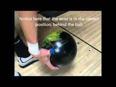 Bowling Tips & Techniques : How to Throw a Good Curveball in Bowling - YouTube
