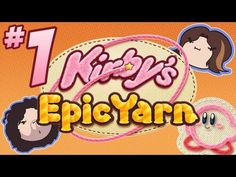 Kirby's Epic Yarn: TOO CUTE - PART 1 - Game Grumps