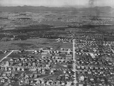 An aerial photo shows west Roanoke in October 1924.