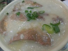 Good Hope Noodle Restaurant - Sliced Beef & Pork Liver Congee