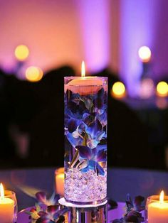 Decor Wonderful Candle Centerpieces For Wedding Decoration Ideas pertaining to dimensions 736 X 1104 Fall Wedding Centerpieces With Floating Candles - Flow Floating Candle Centerpieces, Wedding Reception Centerpieces, Diy Centerpieces, Wedding Table, Diy Wedding, Wedding Flowers, Dream Wedding, Wedding Decorations, Wedding Day