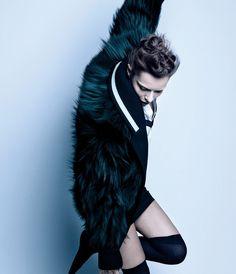 love the furry coat