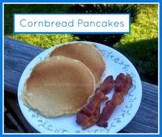 Cornbread Pancakes   Love Bakes Good Cakes