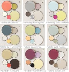 9 Designer Color Palettes for Better Homes & Gardens | Interior Design Ideas, Tips & Inspiration -palette 2