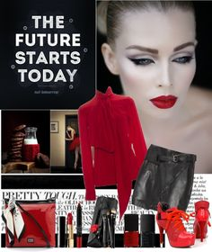 """""""The future starts today"""" by shaneeeee ❤ liked on Polyvore"""