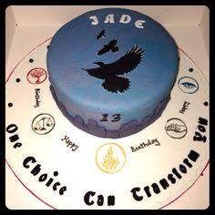 Want wait no need Divergent Cake, Divergent Birthday, Divergent Party, Divergent Trilogy, Cheesecake Cupcakes, Dream Cake, Disney Cakes, Allegiant, Insurgent