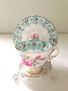 Very pretty....Teacup and Saucer