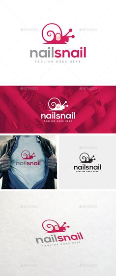 Buy Nail Snail Logo Template by designgarrad on GraphicRiver. Simple, clean, bold, versatile and professional logo suitable for any creative business. Nail Logo, Logo Design, Graphic Design, Girls Hand, Professional Logo, Snail, Logo Templates, Creative Business, Manicure
