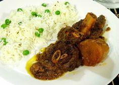 kosha mangsho - Indian goat meat curry - Bengali food