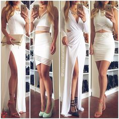 Here is White Party Outfit Ideas Collection for you. White Party Outfit Ideas all white party outfit ideas for women W. Date Outfits, Spring Outfits, Dress Outfits, Cool Outfits, Dress Up, Sexy Dresses, Cute Dresses, Casual Dresses, Girl Fashion
