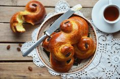 Kublanka vaří doma - Lussekatter