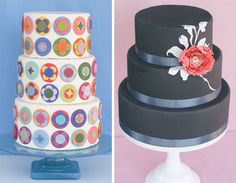 Elegant and fun party cakes
