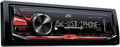 JVC KD-X230 Refurbished Digital Media Car Stereo Android & iPhone Compatibility